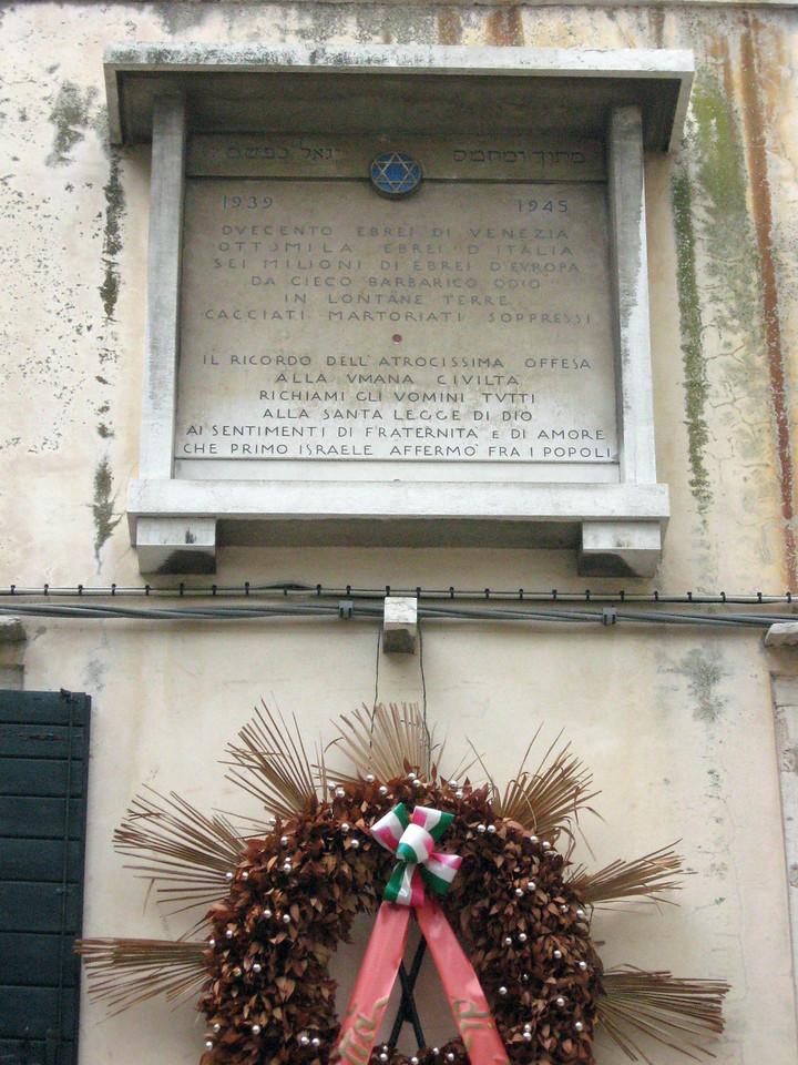 A memorial to the Holocaust.