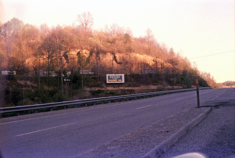On Route 23, below Pine Mountain.