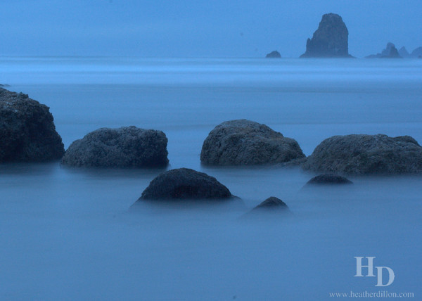 Canon Beach Rocks, Oregon