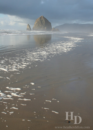 Beach near Haystack Rock, Oregon Coast