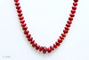 Faceted Ruby Necklace  1-926