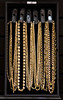 Variety Of Gold Chains.. 22 Lot