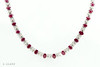 Diamond and Ruby necklace 1-11835
