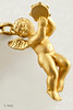 #0027  $3,900.00 9 (Complete Bracelet)  18KT Yellow Gold Carrera Angel Bracelet.