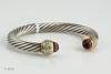 #0013  $1800.00  Sterling Silver Yurman DIA Bracelet