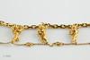 #0026  $3,900.00  18KT Yellow Gold Carrera Angel Bracelet.