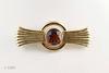 #0023  $1,599.00  14KT Yellow Gold Tiffany Citrine Pin.