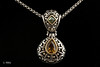 #0002 $350.00 Sterling Silver John Hardy Batu Collection Pendent.