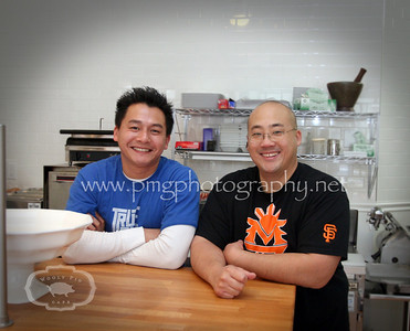 Proud owners Lieng Souryavong and Louis Kao