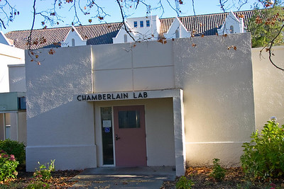 Main entrance to the lab.