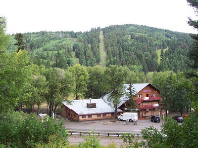 Sipapu lodge in September.