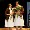 (From L->R): Sister Eva Beehner; Sister Carolyn Marie Monahan.