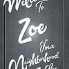 Welcome Zoe 36x24_14