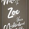 Welcome Zoe 36x24_12