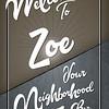 Welcome Zoe 36x24_13