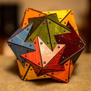 Stellation of Strombic Hexecontahedron