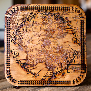 Lord of the Rings Cribbage Board