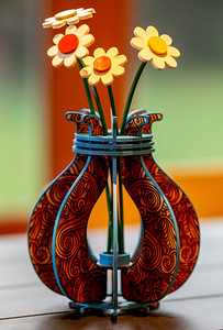 Flower Vase on Draftboard