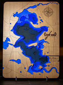 Rest Lake Bathymetric Map