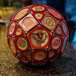 University of Wisconsin Rhombicosidodecahedron