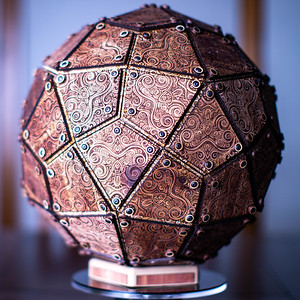 Deltoidal Hexecontahedron on Cedar