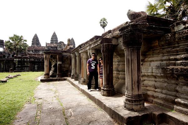 Engagement Shoot in ANgkor Wat,  Cambodia