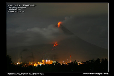 Mayon Volcano Eruption 2006