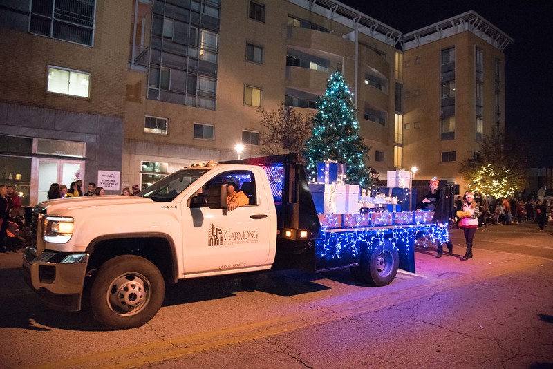Downtown Terre Haute Christmas Parade 2017