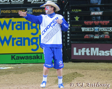Flint Rasmussen is the offical barrel man of the PBR.
