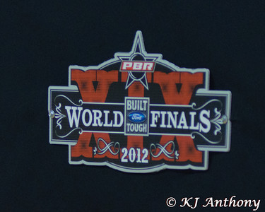 It was the first night and Round One of the PBR World Finals at the Thomas and Mack Center on October 24, 2012, in Las Vegas Nevada.