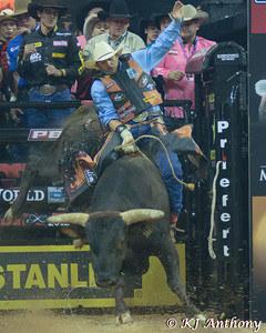 Eneias Barbosa on Asteroid.  It was the first night and Round One of the PBR World Finals at the Thomas and Mack Center on October 24, 2012, in Las Vegas Nevada.