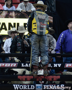 It was the fifth night and Round Five of the PBR World Finals at the Thomas and Mack Center on October 28, 2012, in Las Vegas Nevada.