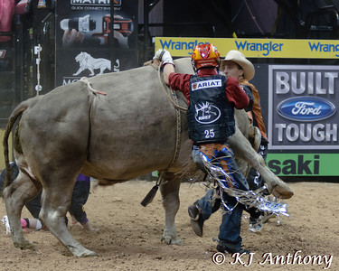 It was the Championship Round -  Round Six of the PBR World Finals at the Thomas and Mack Center on October 28, 2012, in Las Vegas Nevada.  Chris Shivers and Smackdown.