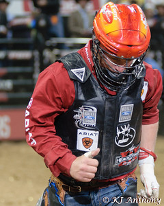 It was the Championship Round -  Round Six of the PBR World Finals at the Thomas and Mack Center on October 28, 2012, in Las Vegas Nevada.  Chris Shivers.