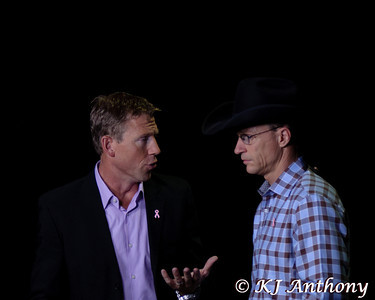 Ty Murray at the 2012 PBR World Finals in Las Vegas, NV.