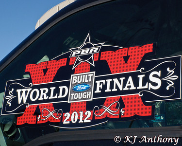 The 2012 PBR World Finals at the Thomas and Mack Center in Las Vegas, NV.