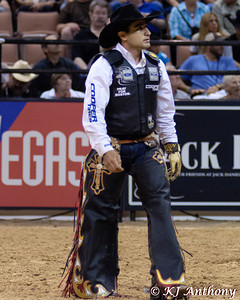 Joao Ricardo Vieira.  It was the second night and Round Four of PBR's Last Cowboy Standing at the Mandalay Bay Events Center on May 11, 2013, in Las Vegas Nevada.