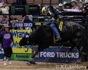 Silvano Alves and David's Dream.  It was the second night and Round Three of PBR's Last Cowboy Standing at the Mandalay Bay Events Center on May 11, 2013, in Las Vegas Nevada.