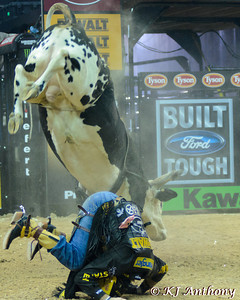The 2013 PBR Built Ford Tough World Finals in Las Vegas, NV at the Thomas and Mack October 21 to 27.