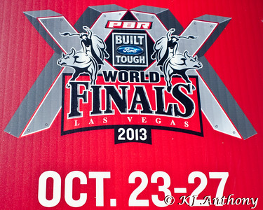 The 2013 PBR World Finals at the Thomas and Mack Center in Las Vegas, NV.