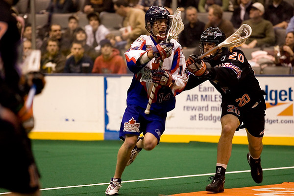 NLL Buffalo Bandits @ Toronto Rock 15 Feb 2008