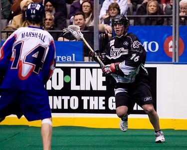 NLL Edmonton Rush @ Toronto Rock 21 March 2008