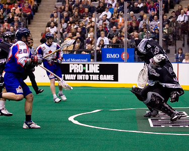 NLL Edmonton Rush @ Toronto Rock 21 March 2008