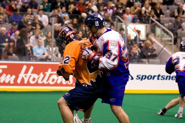 NLL New york Titans @ Toronto Rock 26 Jan 2008