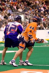 NLL New york Titans @ Toronto Rock 26 Jan 2008