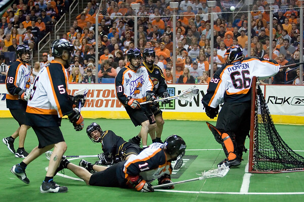 NLL Championship 2008 Portland Lumberjacks @ Buffalo Bandits M40images.com