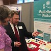 David Sittenfeld from Museum of Science in Boston discusses Building with Biology forum materials with Ellen McCallie, NSF's Program Director, Division of Research on Learning in Formal and Informal Settings