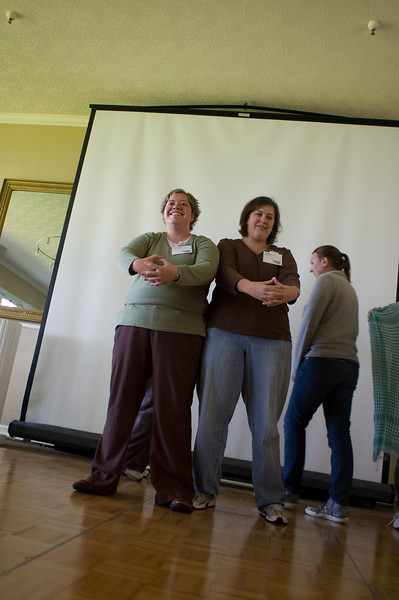 Marama Bayles (green shirt) - release approved<br /> Rachel Pace (brown shirt) - release approved<br /> Katrina Gorga (gray sweater) - release approved Emily Maletz for the NISE Network