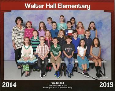 2014 - 2015 - Emily 2nd Grade Class