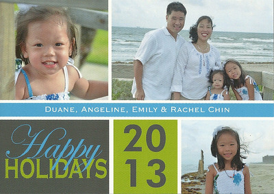December 20, 2013 - Chin Family Christmas Card